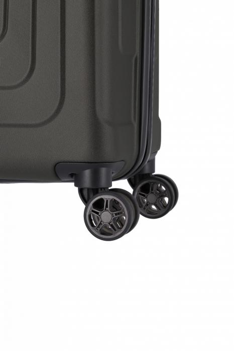 Troler de cabina TITAN X-RAY PRO S ( 40 x 55 x 20 cm) - Amprenta digitala si USB inclus 9