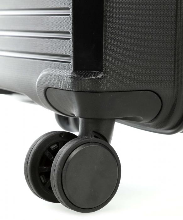 Troler de cabina Travelite CERIS 4 roti duble (spinner) 55 cm S 3