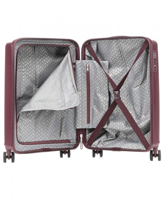 Troler de cabina Travelite CERIS 4 roti duble (spinner) 55 cm S 1