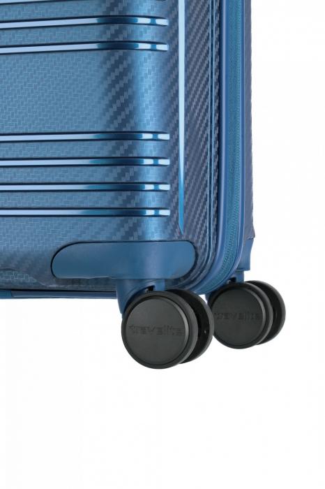 Troler de cabina Travelite ZENIT 4 roti duble (spinner) 55 cm S 4