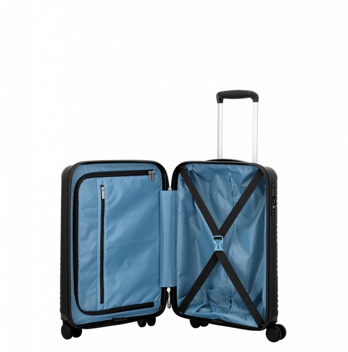 Troler de cabina Travelite ZENIT 4 roti duble (spinner) 55 cm S 6
