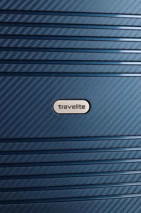 Troler de cabina Travelite ZENIT 4 roti duble (spinner) 55 cm S 5