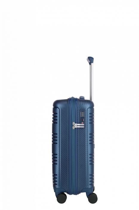 Troler de cabina Travelite ZENIT 4 roti duble (spinner) 55 cm S 2