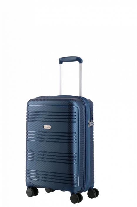 Troler de cabina Travelite ZENIT 4 roti duble (spinner) 55 cm S 1