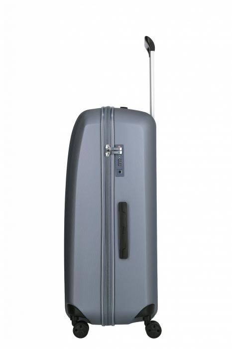 Troler de cala cu USB - TITAN XENON 4 roti 74 cm (L) - Albastru 6