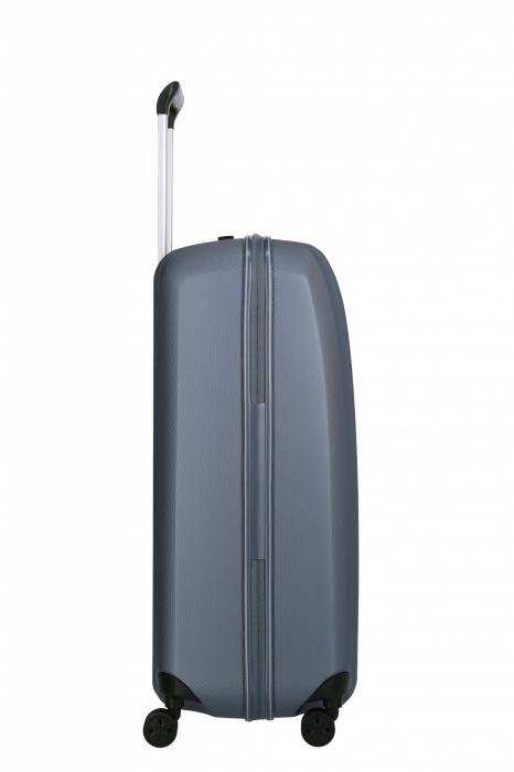 Troler de cala cu USB - TITAN XENON 4 roti 74 cm (L) - Albastru 4