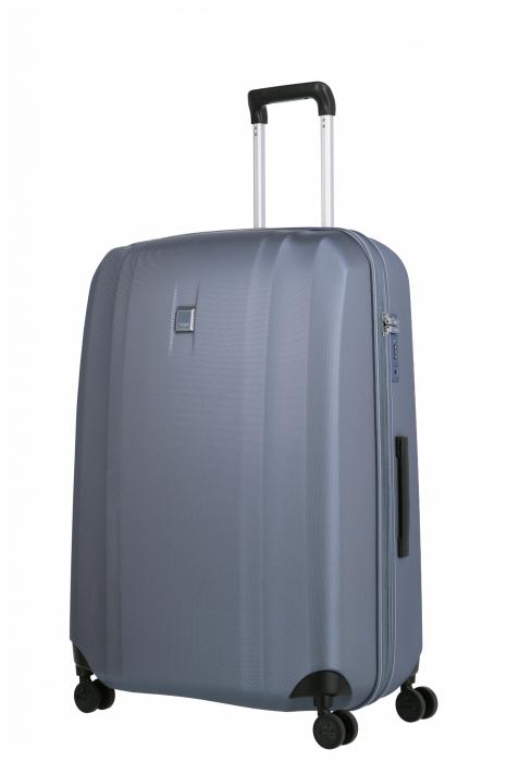 Troler de cala cu USB - TITAN XENON 4 roti 74 cm (L) - Albastru 7