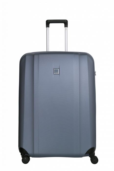 Troler de cala cu USB - TITAN XENON 4 roti 74 cm (L) - Albastru 0