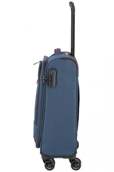 Troler de cabina Travelite Arona 4 roti duble 55 cm S 21