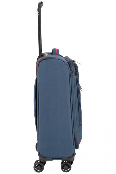 Troler de cabina Travelite Arona 4 roti duble 55 cm S 31