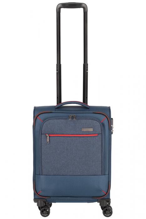 Troler de cabina Travelite Arona 4 roti duble 55 cm S 34