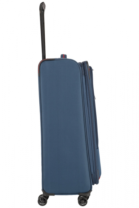 Troler de cala Travelite Arona 4 roti duble 77 cm L Extensibil 1