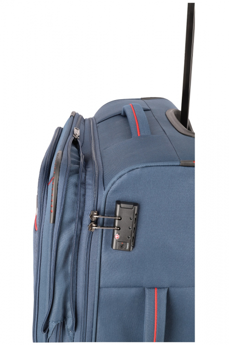 SET Trolere Travelite Arona 4 roti duble S, M, L + CADOU geanta de bord 4