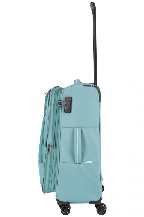 Troler de cala Travelite Arona 4 roti duble 66 cm M Extensibil 7