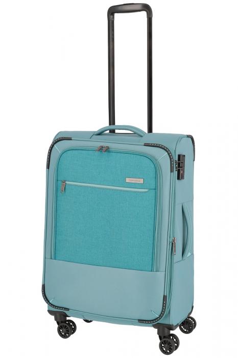 SET Trolere Travelite Arona 4 roti duble S, M, L + CADOU geanta de bord 7