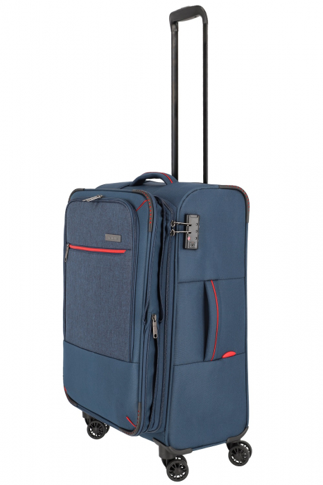 SET Trolere Travelite Arona 4 roti duble S, M, L + CADOU geanta de bord 8