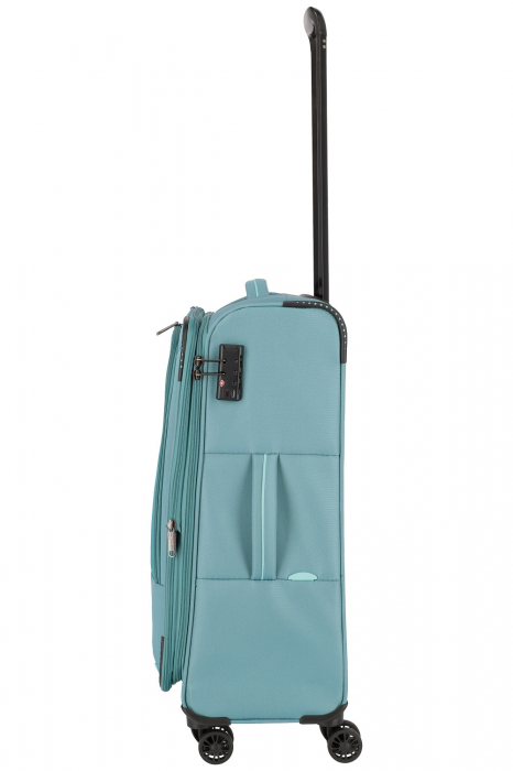 Troler de cala Travelite Arona 4 roti duble 66 cm M Extensibil 8