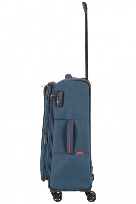 Troler de cala Travelite Arona 4 roti duble 66 cm M Extensibil 10