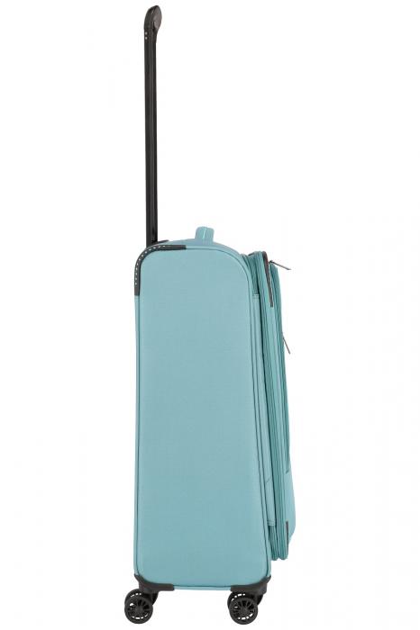 SET Trolere Travelite Arona 4 roti duble S, M, L + CADOU geanta de bord 10
