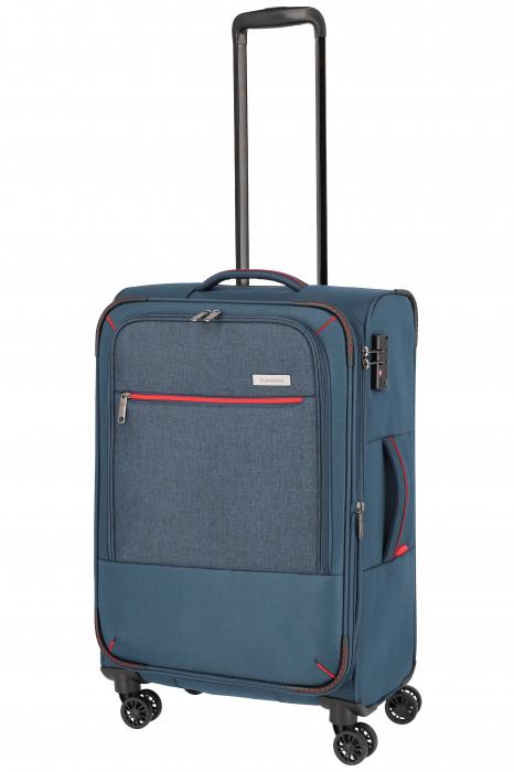 SET Trolere Travelite Arona 4 roti duble S, M, L + CADOU geanta de bord 9