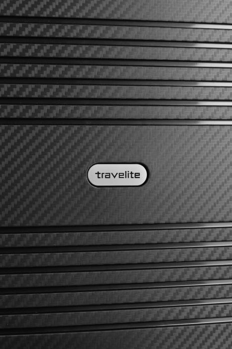 Troler de cala Travelite ZENIT 4 roti duble (spinner) 68 cm M extensibil 8