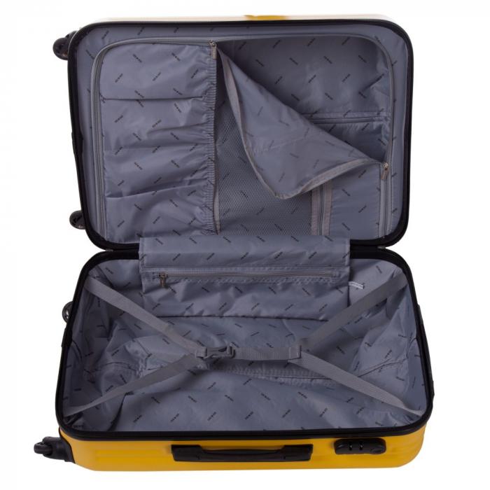 Troler Lamonza Fantasy galben cu negru 67x45x27 cm 4