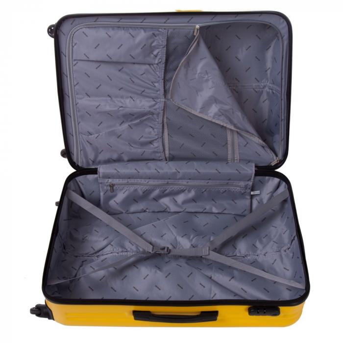 Troler Lamonza Fantasy galben cu negru 77X53X30 cm 5