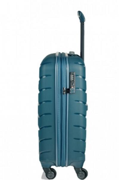 Troler Mirano Paris 55 albastru - Troler de cabina