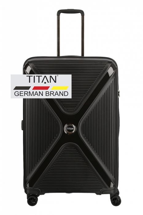 Troler TITAN - PARADOXX - L - 77 cm 4 roti duble 0