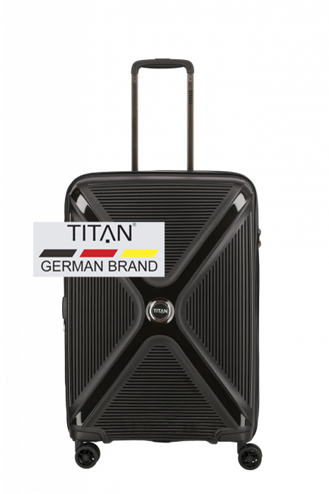 Troler TITAN - PARADOXX - M extensibil - 68 cm  4 roti duble [0]