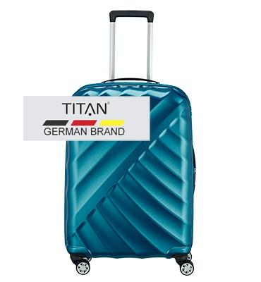 Troler TITAN SHOOTING STAR 4 roti 66 cm - M extensibil