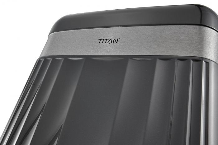 Troler TITAN - SPOTLIGHT -  L - 76 cm 4 roti duble [11]
