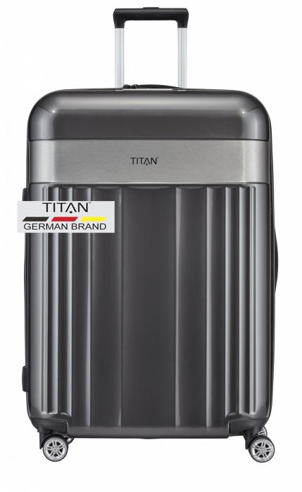 Troler TITAN - SPOTLIGHT -  L - 76 cm 4 roti duble 12