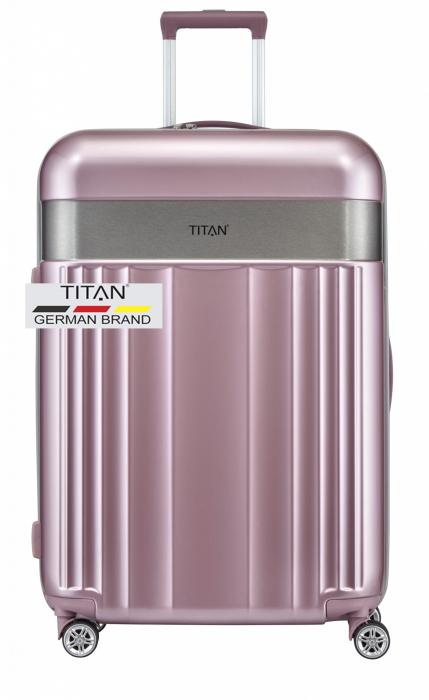 Troler TITAN - SPOTLIGHT -  L - 76 cm 4 roti duble 13