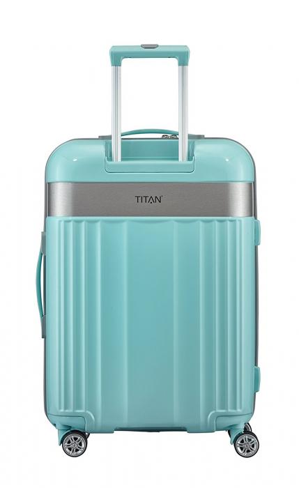 Troler TITAN - SPOTLIGHT - M - 67 cm 4 roti duble 8