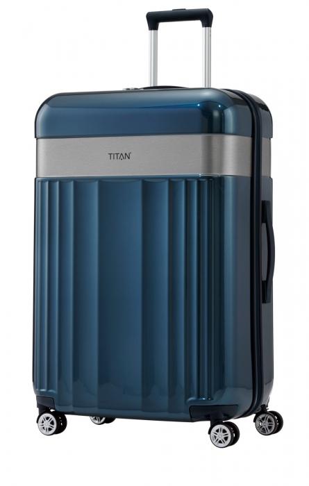 Troler TITAN - SPOTLIGHT -  L - 76 cm 4 roti duble 4