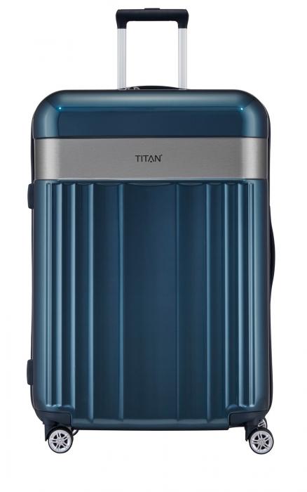 Troler TITAN - SPOTLIGHT -  L - 76 cm 4 roti duble 0