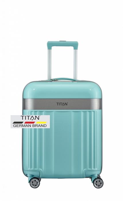 Troler TITAN - SPOTLIGHT 4 roti duble S - 55 cm 0