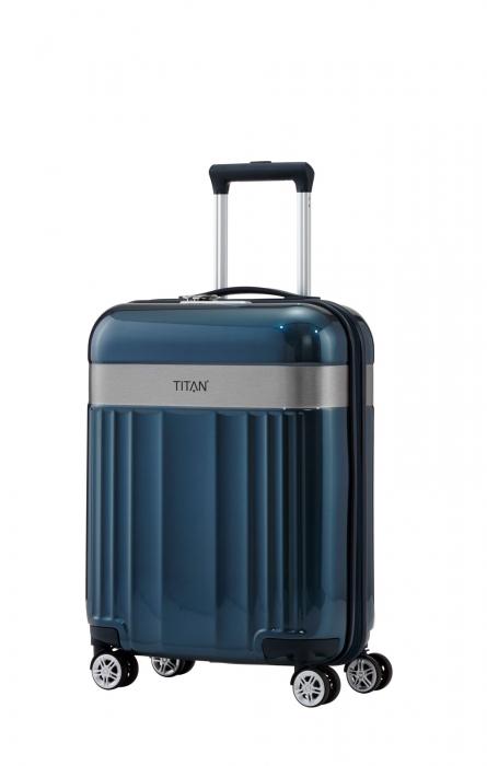 Troler TITAN - SPOTLIGHT - S - 55 cm 4 roti duble 7