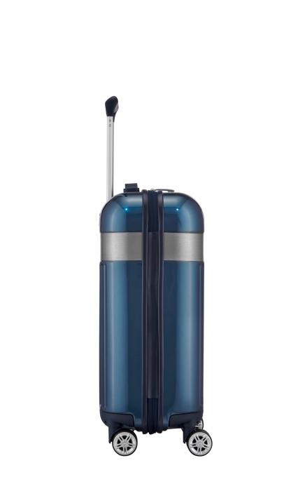 Troler TITAN - SPOTLIGHT - S - 55 cm 4 roti duble 4
