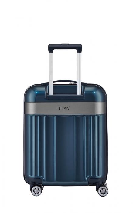 Troler TITAN - SPOTLIGHT - S - 55 cm 4 roti duble 2