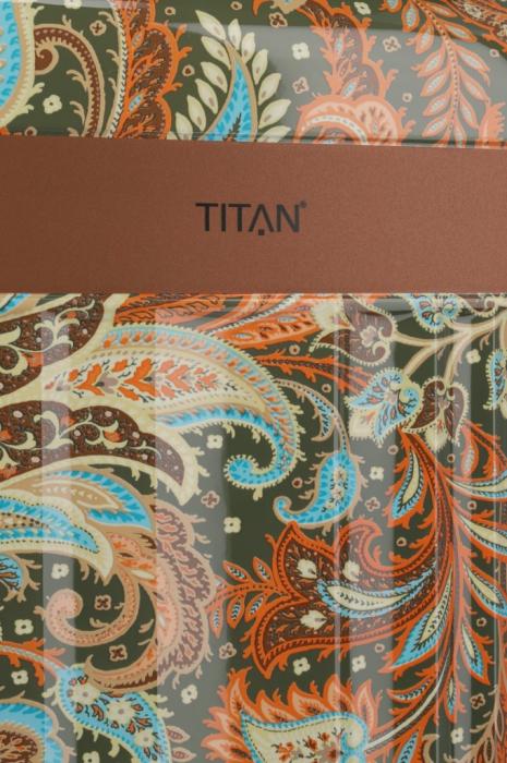 Troler TITAN - SPOTLIGHT Paisley - L - 76 cm 4 roti duble 5