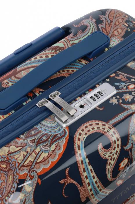 Troler TITAN - SPOTLIGHT Paisley - L - 76 cm 4 roti duble 11