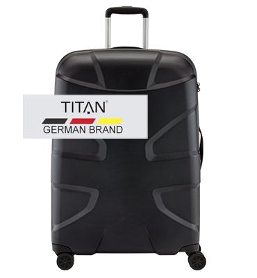 Troler TITAN X2 4 roti L 76 cm 0