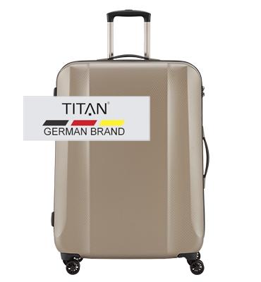 Troler TITAN XENON DELUXE 4 roti 74 cm