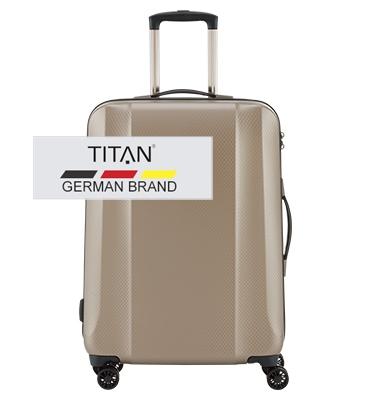 Troler TITAN XENON DELUXE 4 roti 67 cm 0