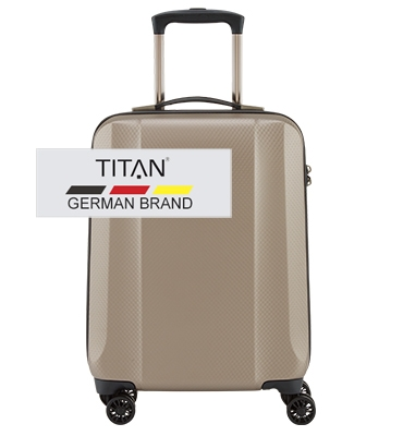 Troler cabina TITAN XENON DELUXE 4 roti 55 cm 0