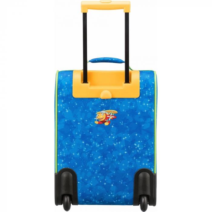 Troler Travelite 2 roti textil Eroii Orasului S 8
