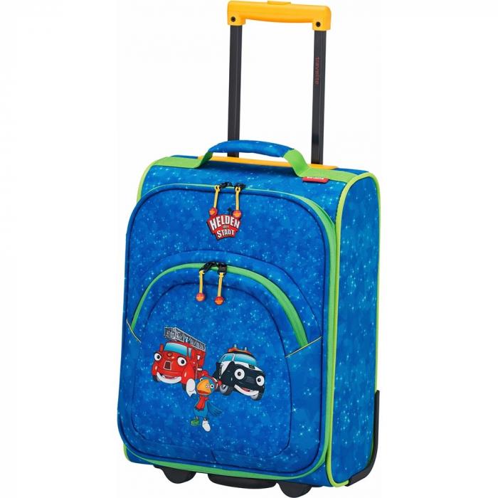 Troler Travelite 2 roti textil Eroii Orasului S 7