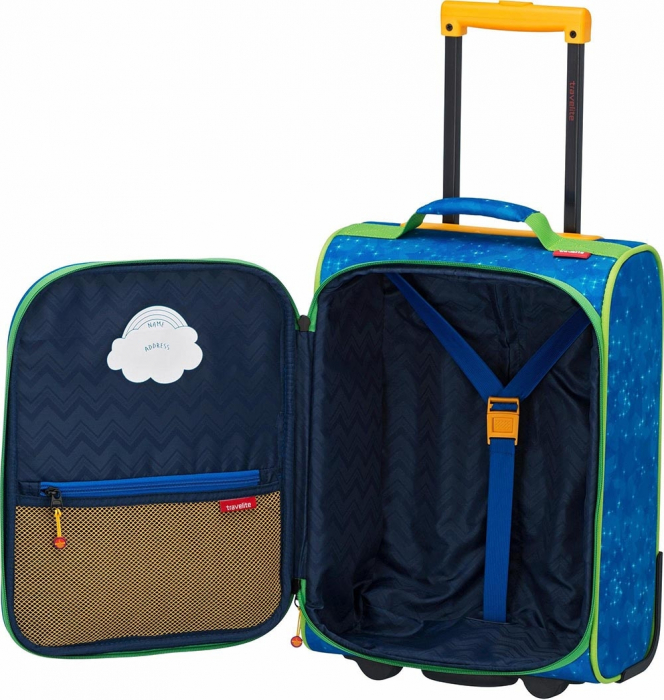 Troler Travelite 2 roti textil Eroii Orasului S 10